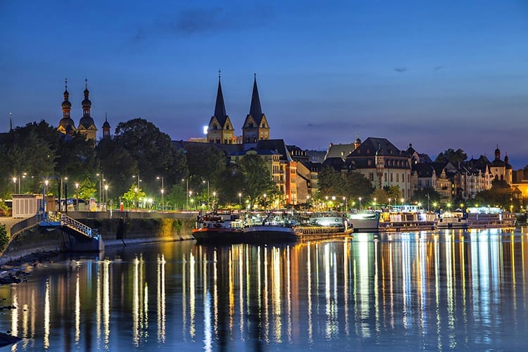 Koblenz, de Moezel