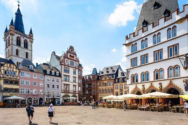 Trier, de Moezel