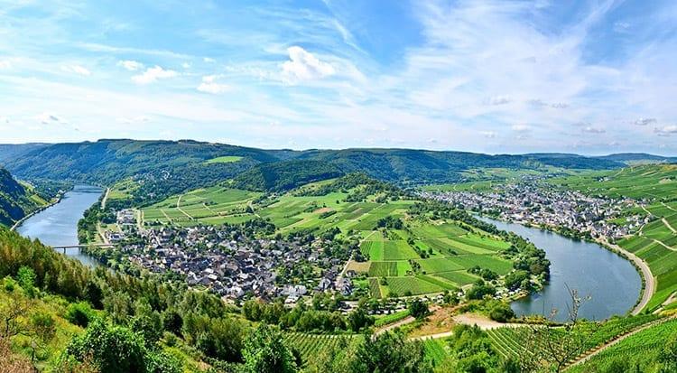 De Moezel, Duitsland