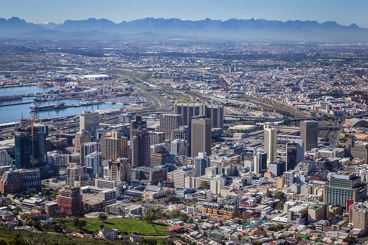 Kaapstads 'City Bowl'