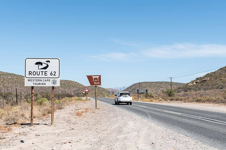 Karoo-route, Zuid-Afrika