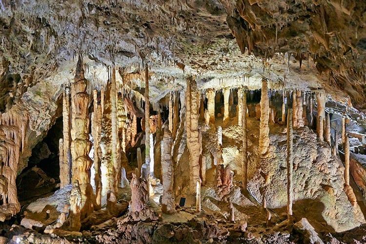 De grotten van Han-sur-Lesse, Ardennen