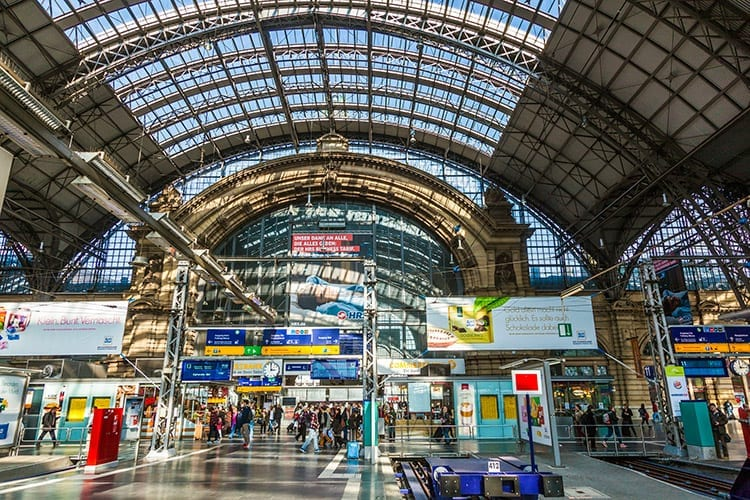 Hauptbahnhof in Frankfurt