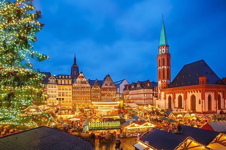 Kerstmarkt, Frankfurt