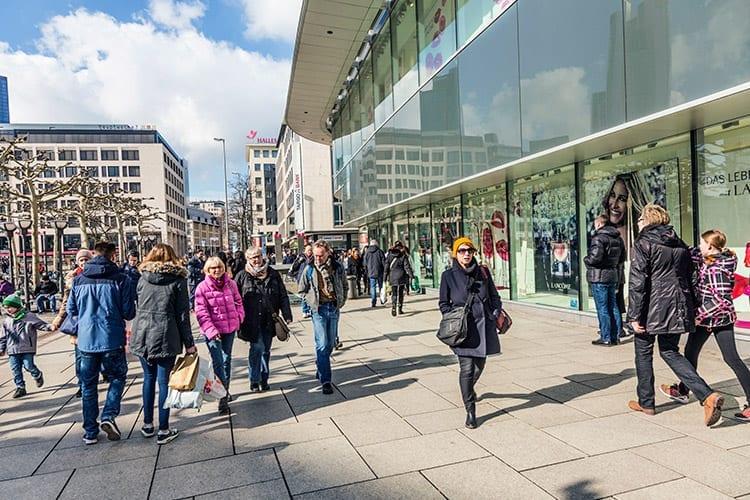 Winkelen in Frankfurt