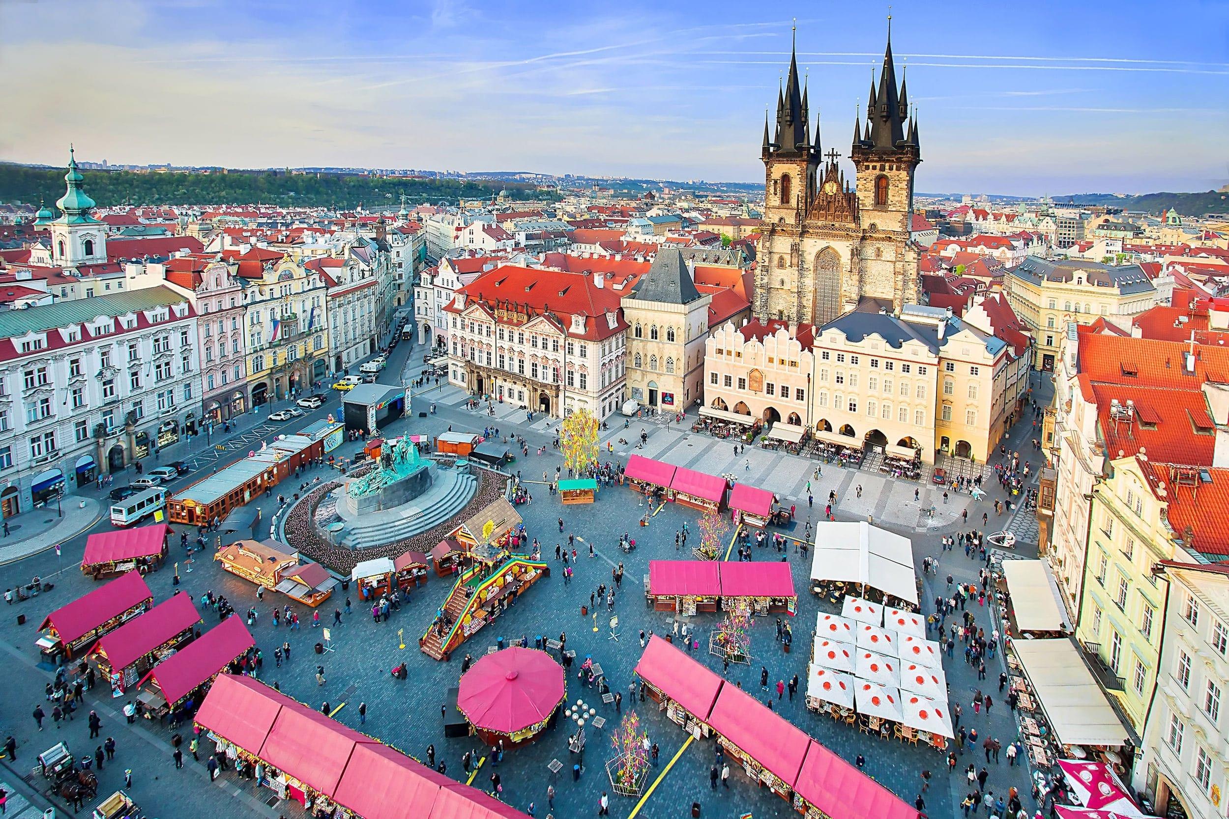 Goedkope stedentrip Europa