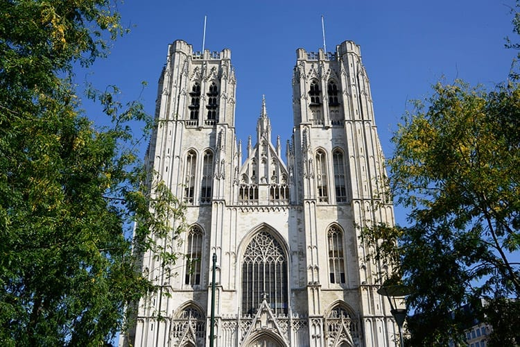 De kathedraal van Sint-Michiel en Sint-Goedele, Brussel