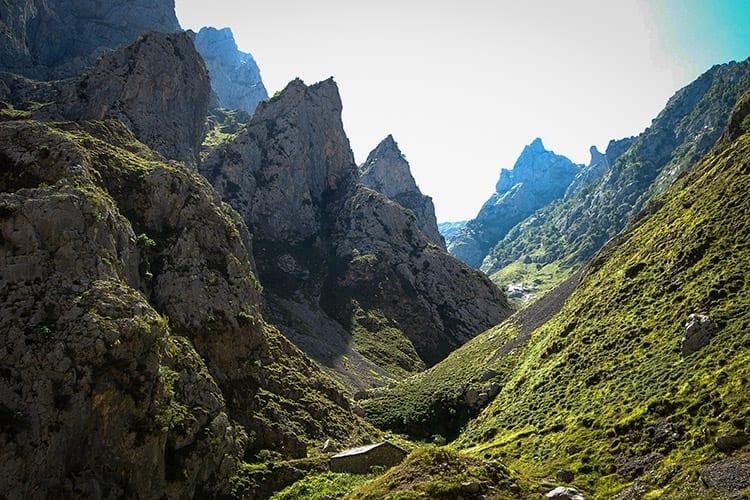 Los Picos de Europa, Baskenland