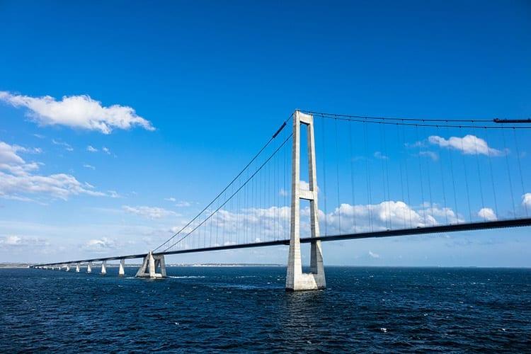 Öresundbrug tussen Malmö en Kopenhagen
