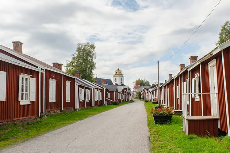 Gammelstad, Zweden