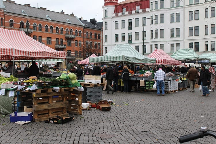 Möllevángstorget markt, Malmö