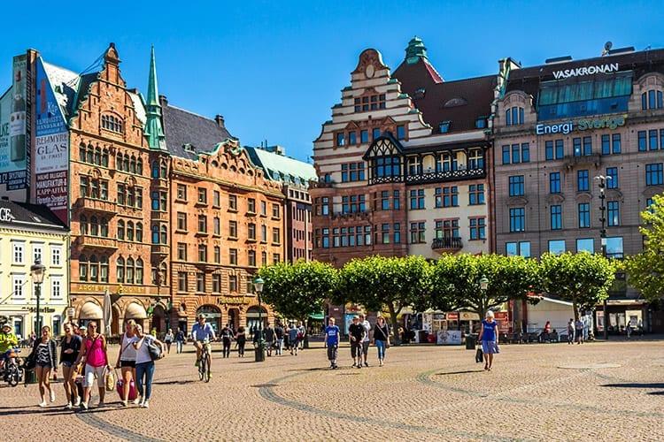 Stortorget plein in Malmö