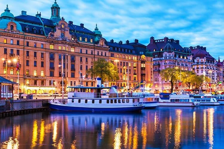 Gamla Stan pier, Stockholm