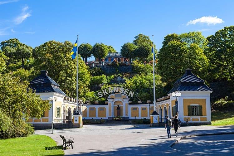 Skansen Openlucht Museum, Zweden