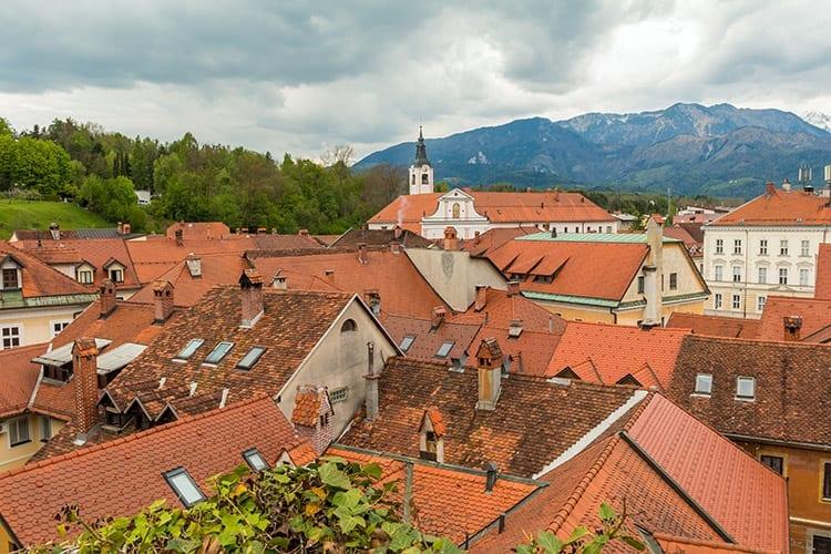 Kamnik stad, Slovenië