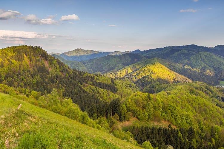Kamnische Alpen, Slovenië