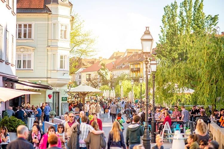Ljubljana, Staro Mesto