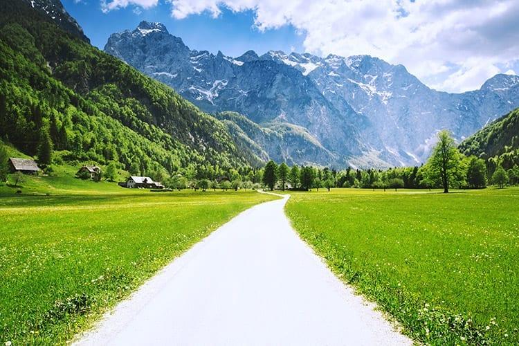 Logar Vallei, Slovenië