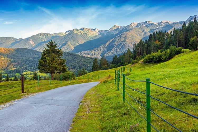 Julische Alpen, Meer van Bohinj