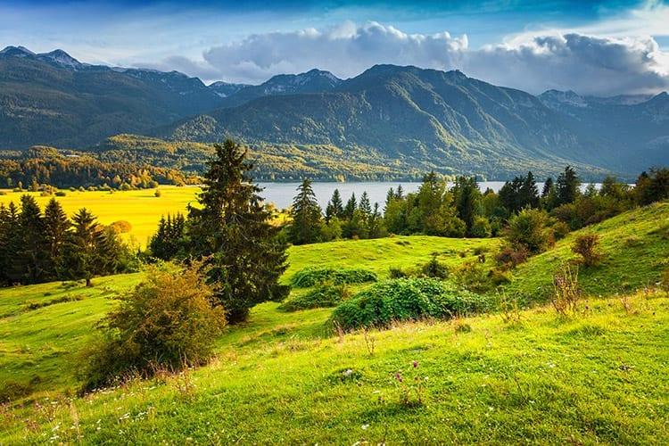 Meer van Bohinj & het Triglav National Park
