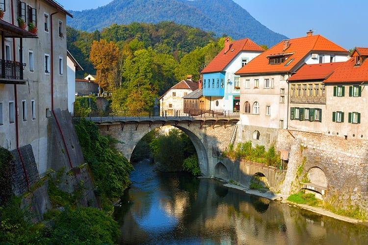 Skofja Loka, Slovenië