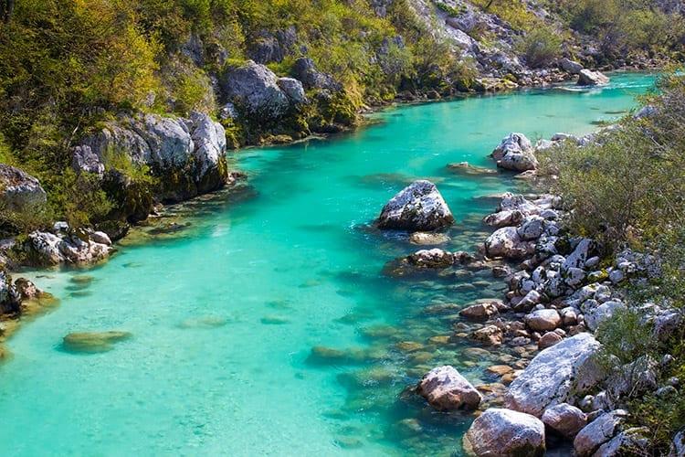 Soca rivier, Slovnië