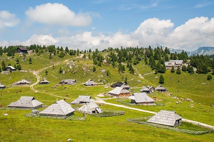 Velika Planina, Slovenië