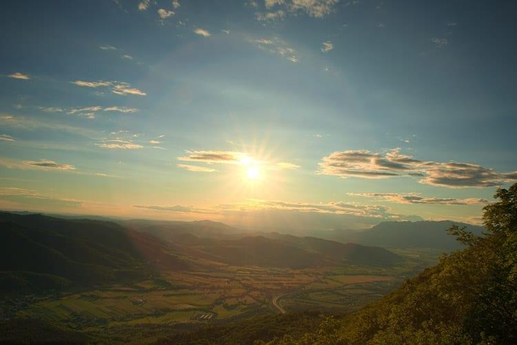 Vipava Valley, Slovenië