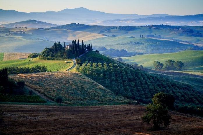 Mooiste route Toscane