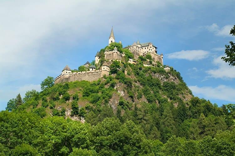 Burg Hochosterwitz, Karinthië