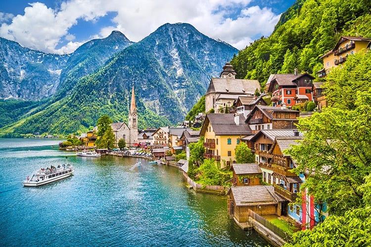 Hallstatt, Oostenrijk