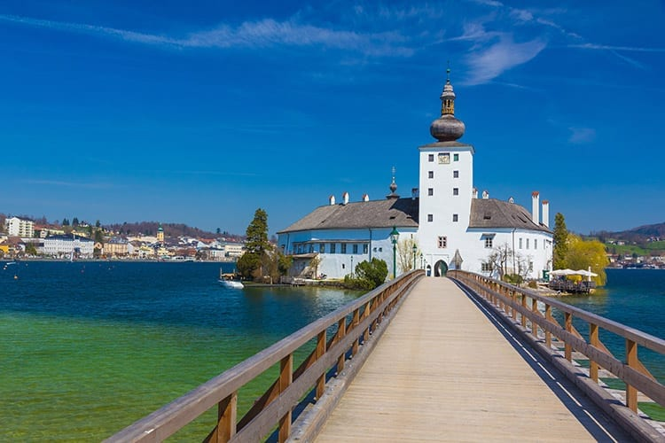 Schloss Ort in Gmunden, Opper-Oostenrijk
