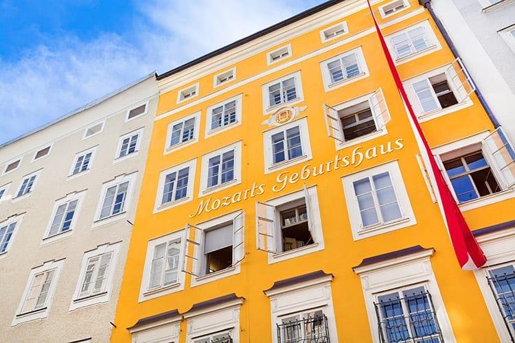 Geboortehuis Mozart, Salzburg