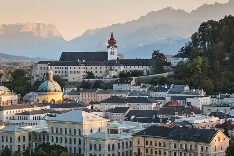 Nonnberg klooster, Salzburg