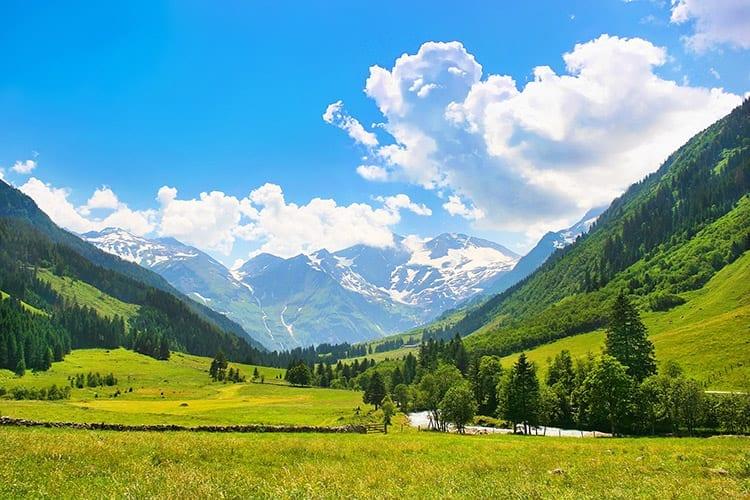 Salzburgerland, Oostenrijk