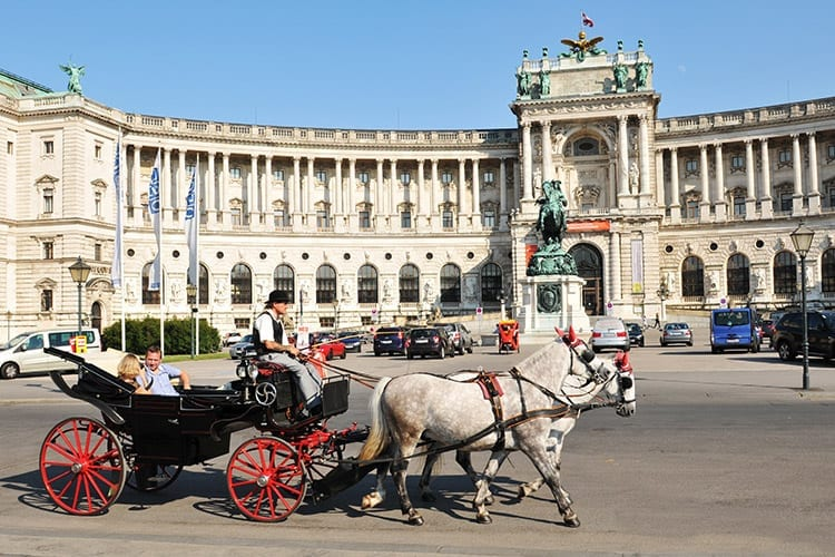 Hofburg, Wenen