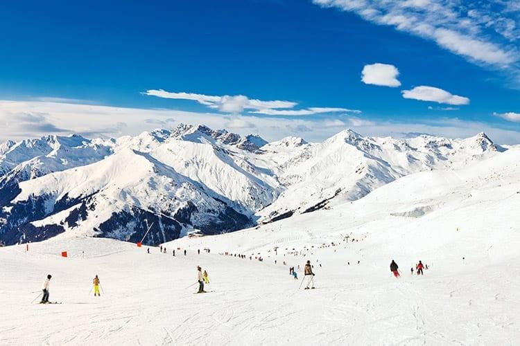 Pistes bij Mayrhofen, Zillertal