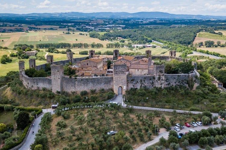 Monteriggioni, roadtrip Toscane