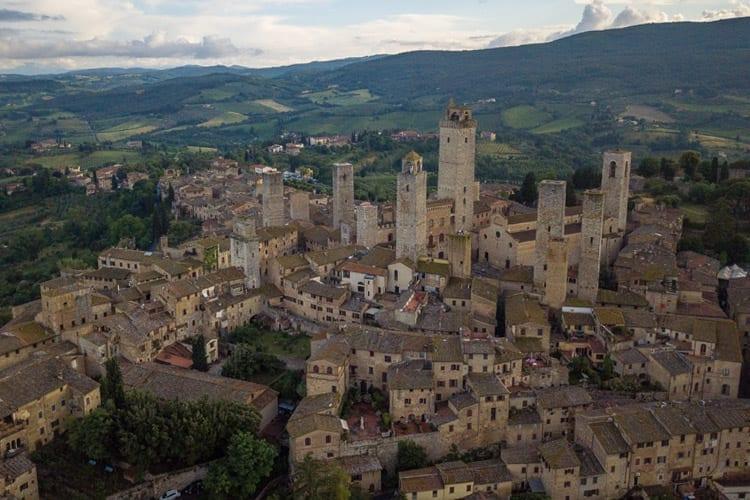 San Gimignano, roadtrip Toscane