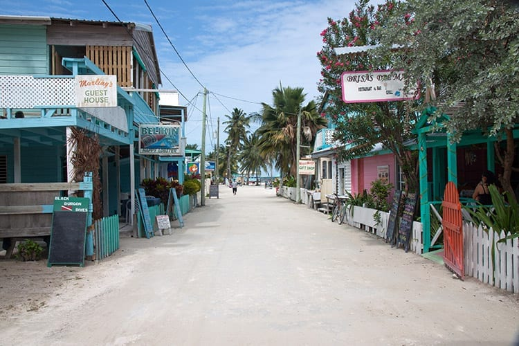Caye Caulker Town