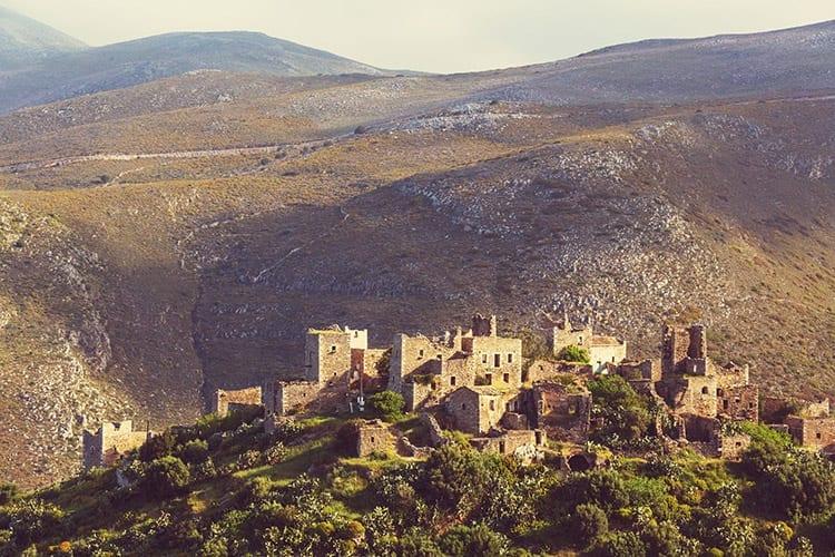 Vathia, Peloponnesos