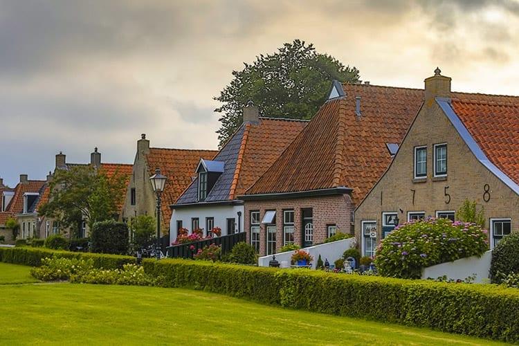 Het dorpje op Schiermonnikoog