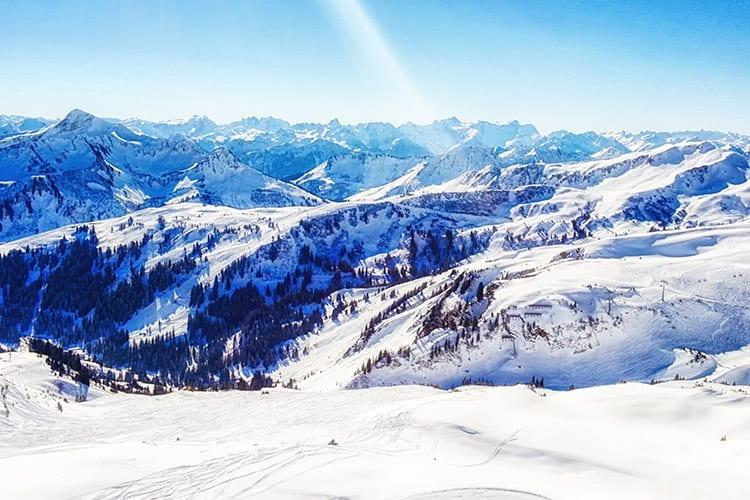 Montafon, Oostenrijk