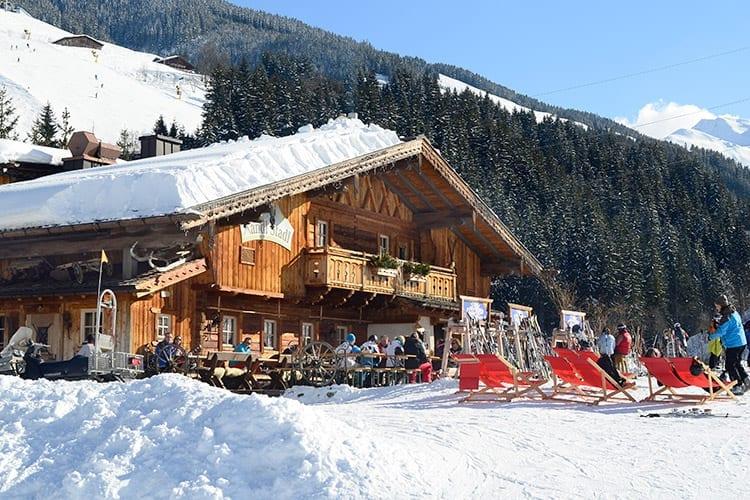 Saalbach, Oostenrijk