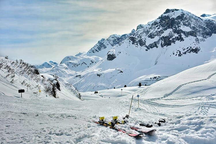 Lech, Ski Arlberg, Oostenrijk