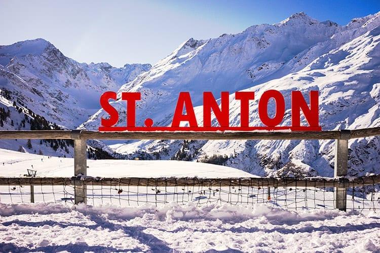 Sankt Anton am Arlberg, Oostenrijk