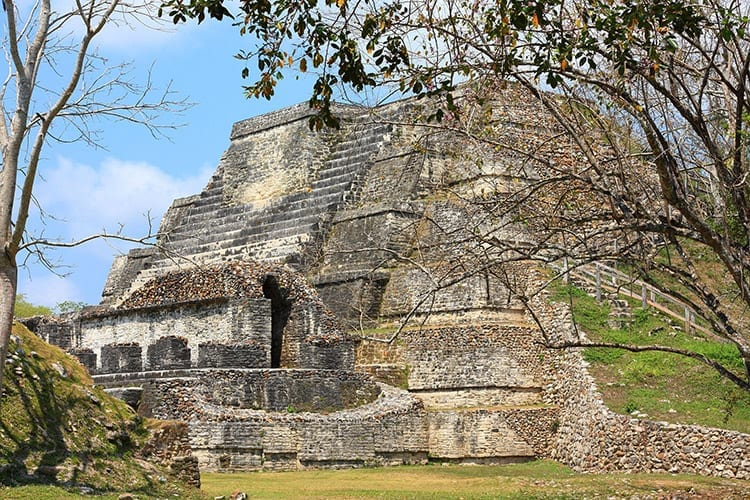 Maya ruïnes in Belize