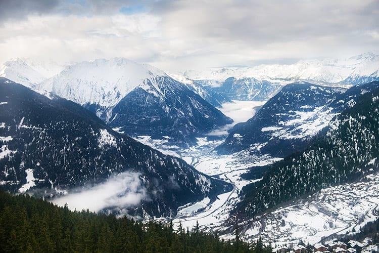 Les Quatre Vallées, Zwitserland