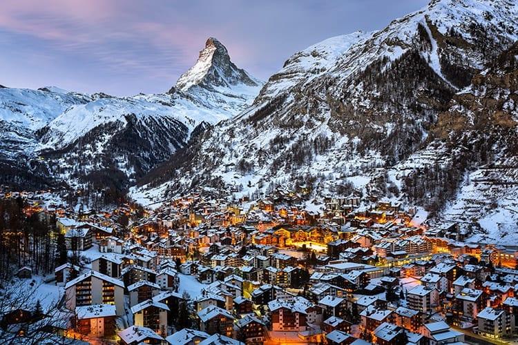 Matterhorn Zermatt, Zwitserland