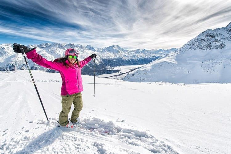 Sankt Moritz, Zwitserland